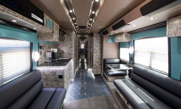 Desperado tour bus rental