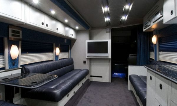 Ms Brandy entertainer coach front lounge