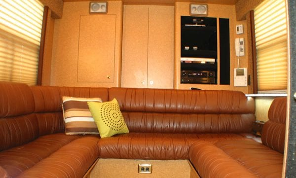 RBK1 entertainer coach rear lounge