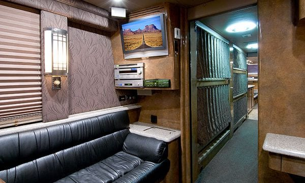 Sidney entertainer coach rear lounge