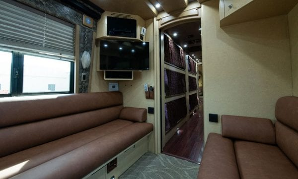 Songbird entertainer tour bus