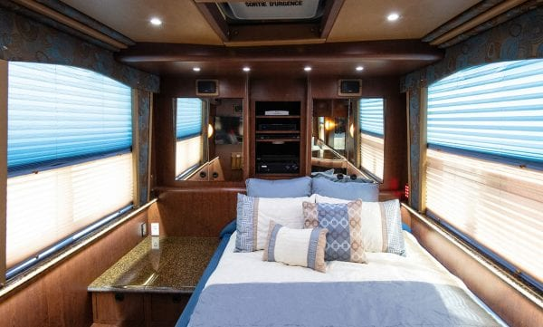 Entertainer coach private room