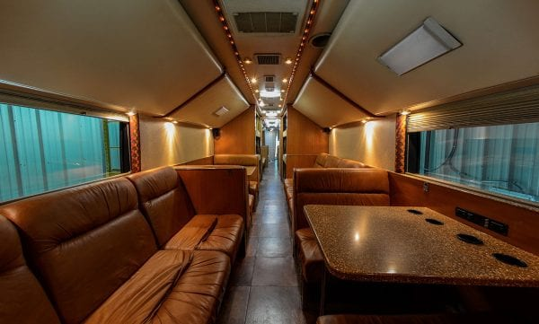 Super coach interior